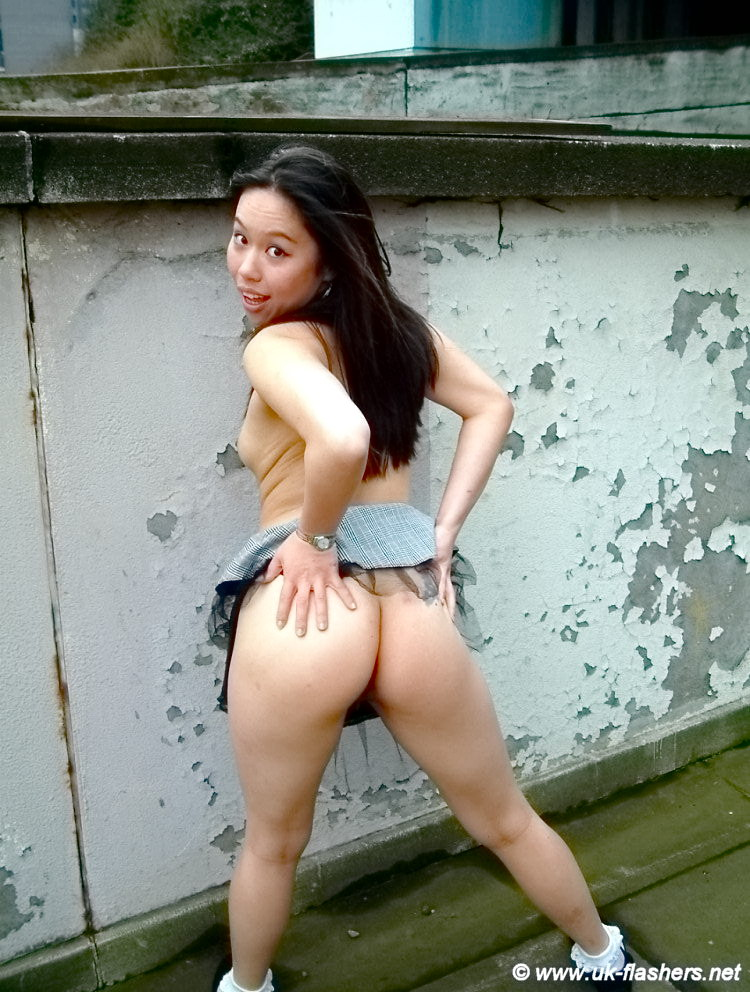 Nude asian girl on the streets can consult