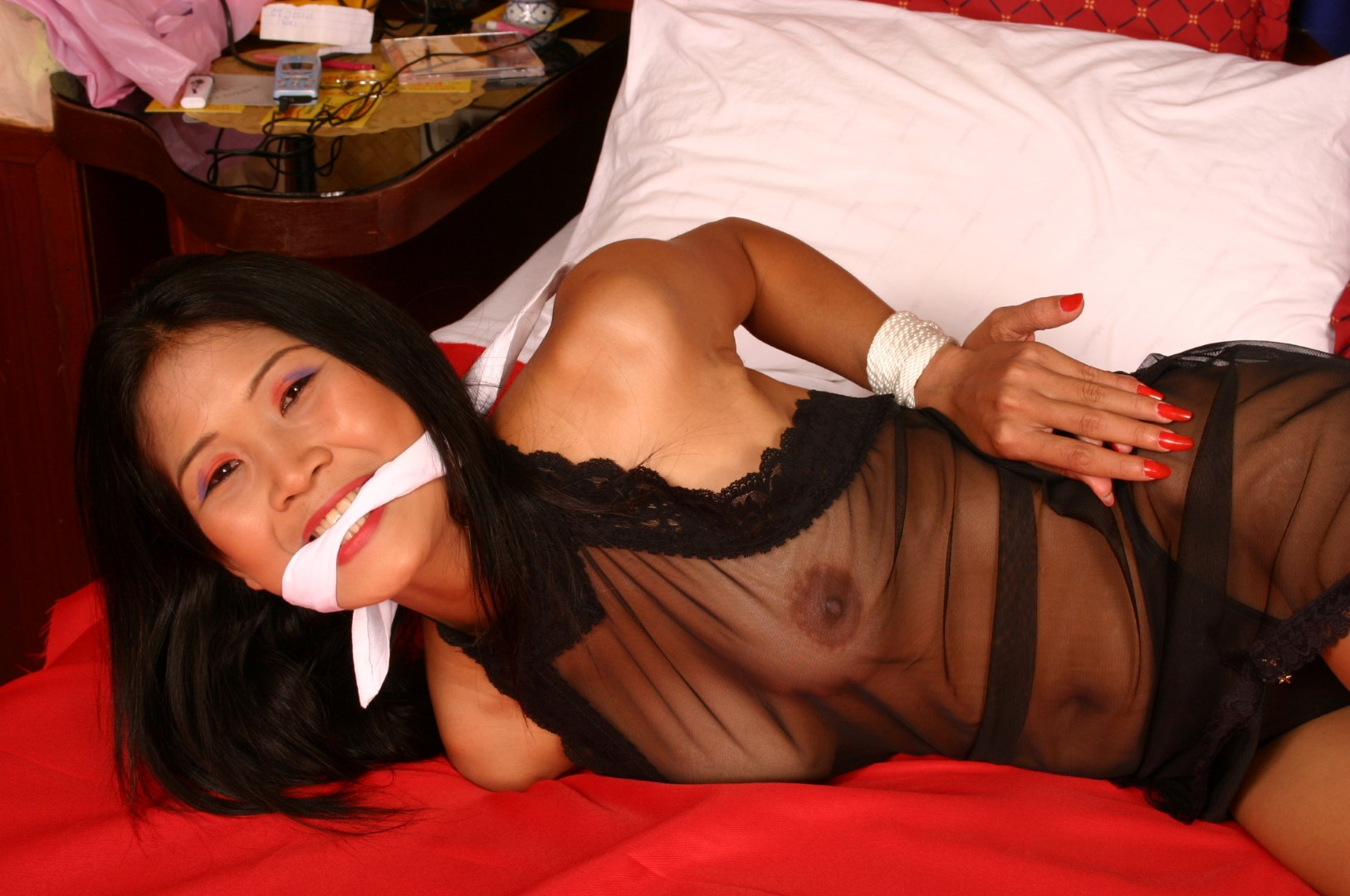 For asian bondage gagged consider