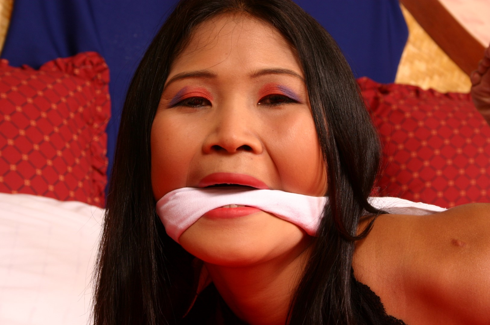 Apologise, but, asian bondage gagged thought