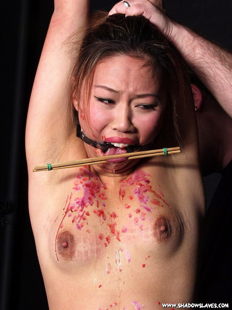 Giving hot bdsm and asian and pain